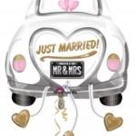 Just Married ballon