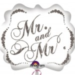 Mr. & Mrs. ballon