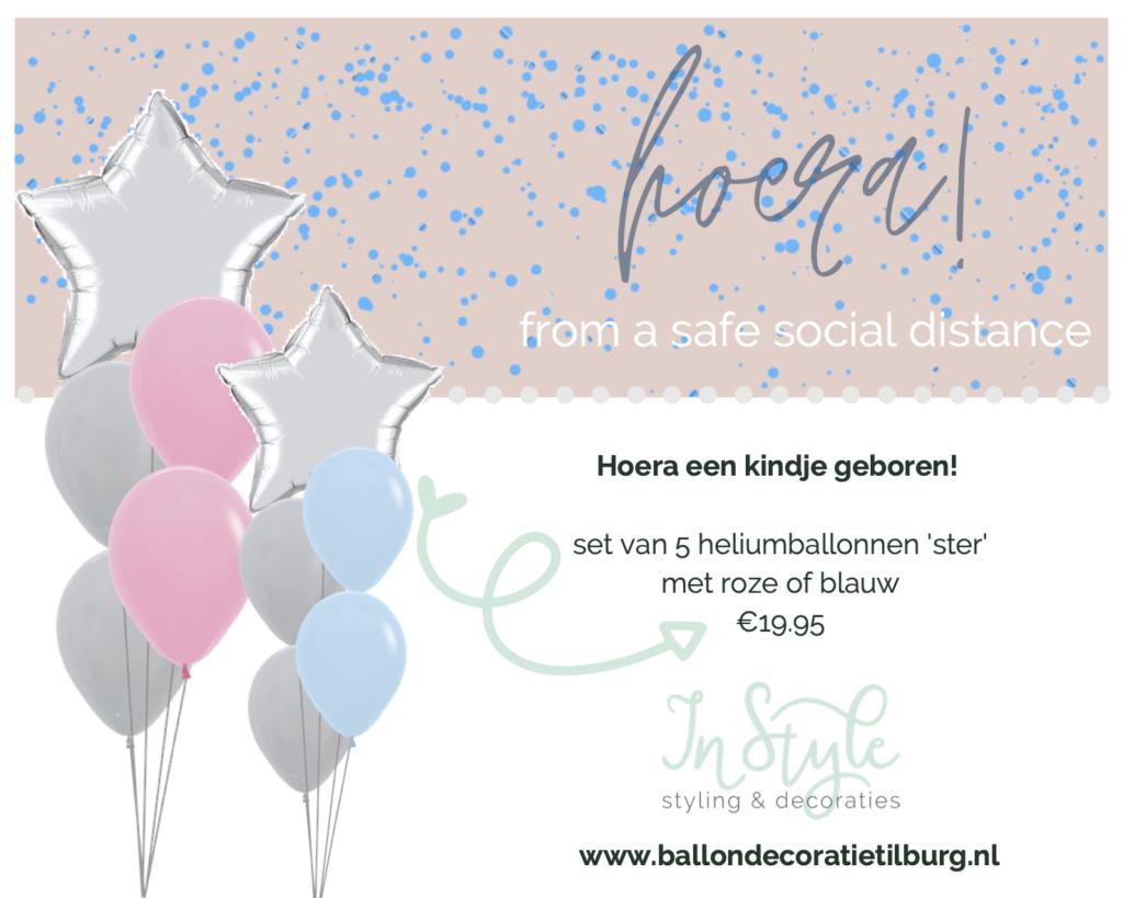 baby geboorte ballonnen