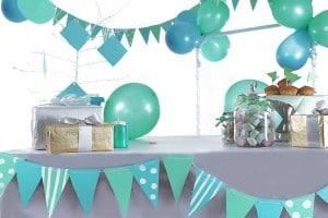 ballonnenblauwgroen