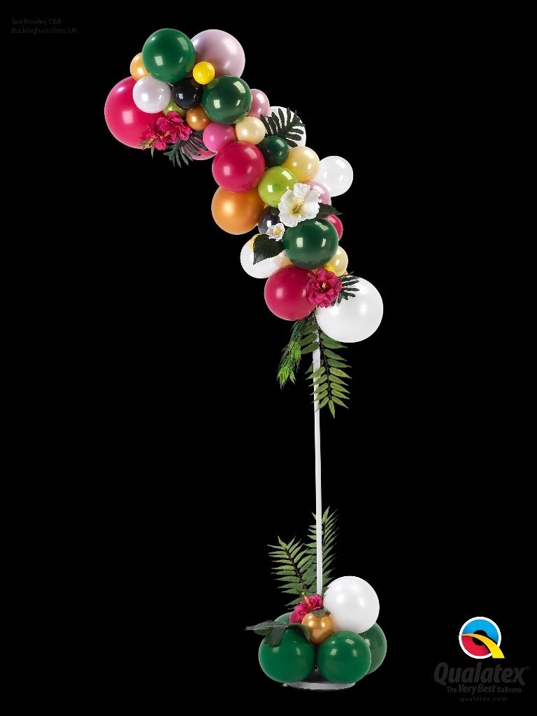 organic ballonnenpilaar