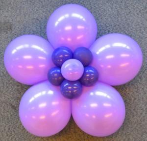 Ballonenbloempaarslila
