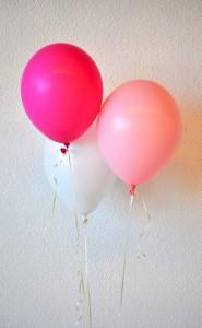 Heliumballonnen roze