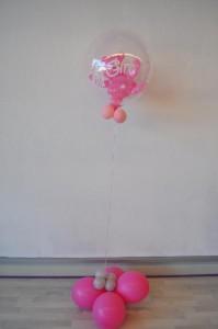 Bubbleballon roze
