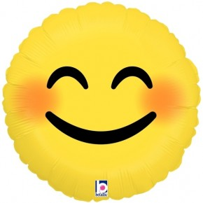 Smiley Folie ballon