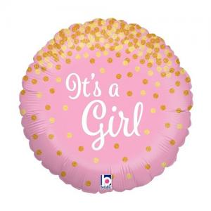 It's a girl | Geboorte meisje Folie ballon