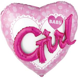 Girl 3D ballon | Folie ballon