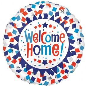 Welcome home | Welkom thuis Folie ballon