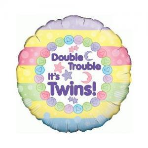 Tweeling Folie ballon