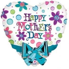 Happy Mothersday   Fijne moederdag Folie Ballon