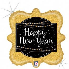 Happy New Year | Gelukkig Nieuwjaar Folie Ballon