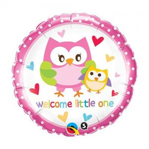 Welcome little one | Geboorte Folie ballon