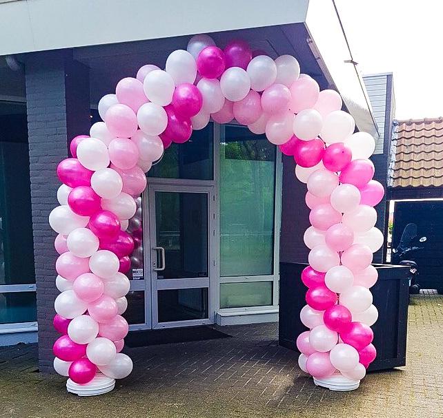Roze ballonnen bestellen voor Roze Maandag tijdens de Tilburgse Kermis